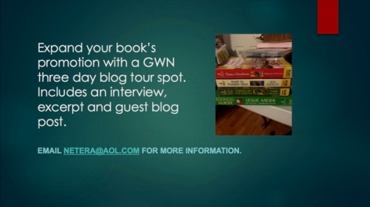 GWN 3 day blog tour spot screen save