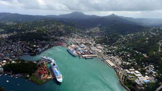 Castries-Harbour-Saint-Lucia-