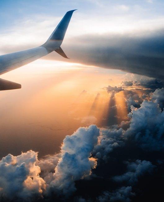 Guest Post - Denise - Journey - aeroplane sunrise